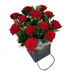 Bouquet Dozen Red Roses
